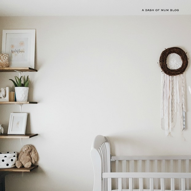 Soft And Elegant Gray And Pink Nursery: Soft Grey And Blush Pink Nursery Reveal