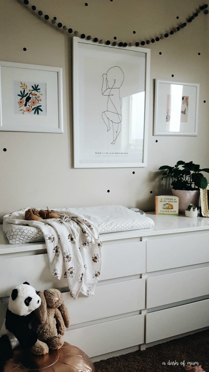 Pretty Whimsical Baby Girl S Nursery Room Reveal The Blush Home A Lifestyle Blog