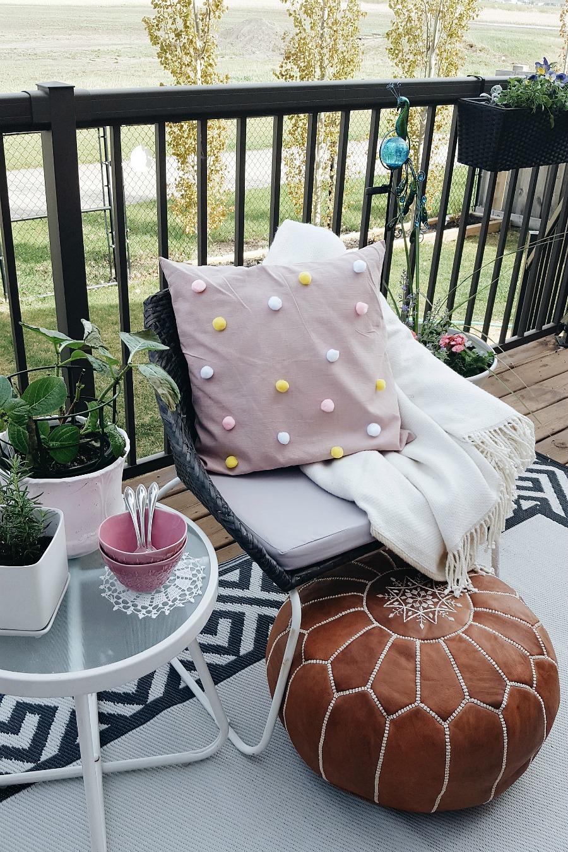 Boho Inspired Backyard Patio Makeover (On A Budget ... on Backyard Patio Makeover id=70372