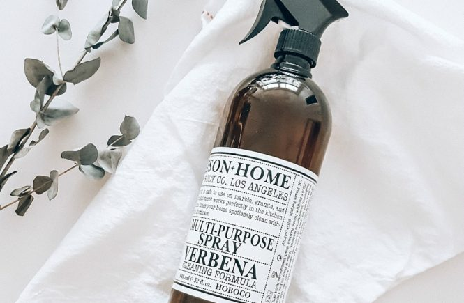 DIY Natural & Non Toxic All Purpose Cleaner | The Blush Home