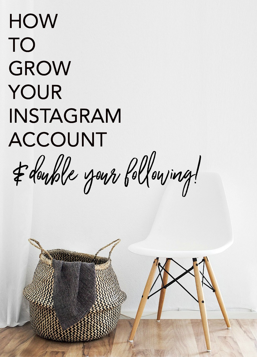 How To Grow Your Instagram Account & Double Your Following. Real Instagram growth with these easy tips that helped me more than double my following in two months! The Blush Home Blog